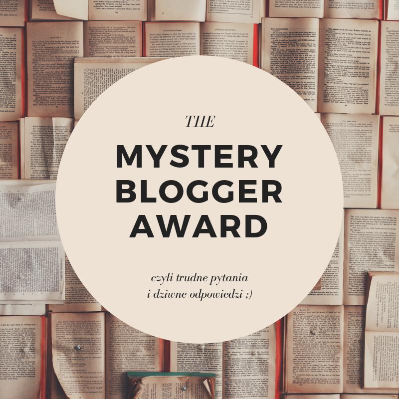 mystery blogger award - czytoholik