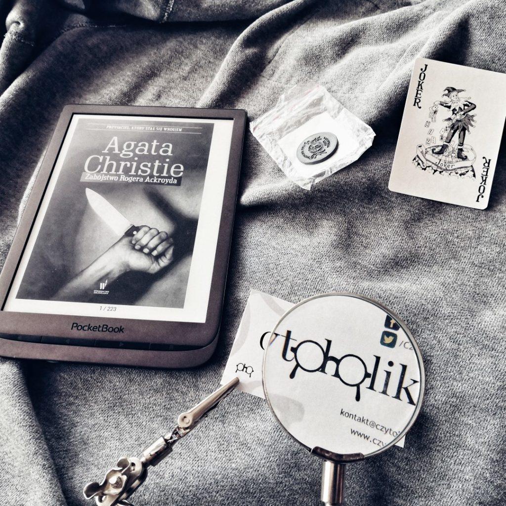 Zabójstwo Rogera Ackroyda - Agatha Christie - czytoholik