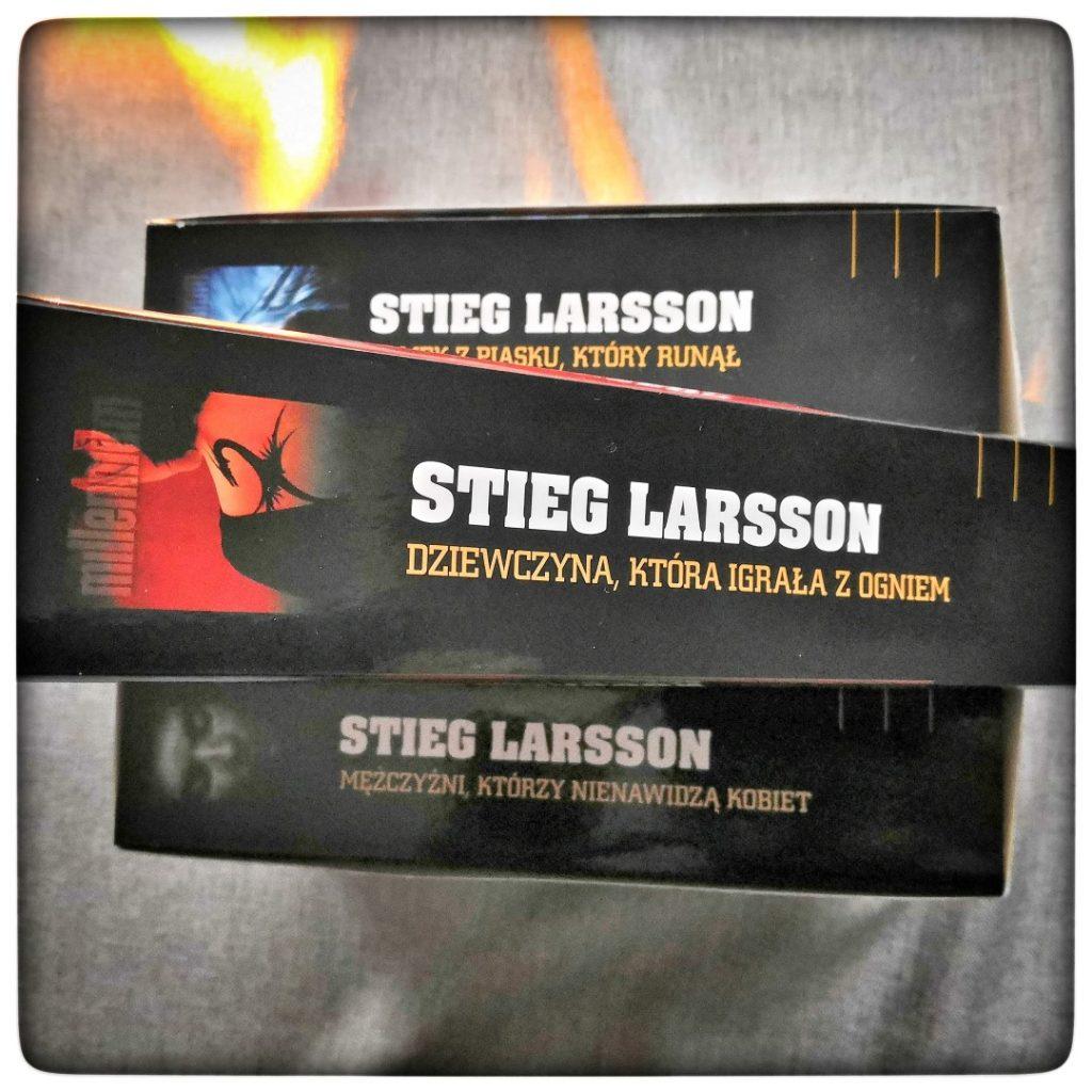 Dziewczyna, która igrała z ogniem - Stieg Larsson - czytoholik