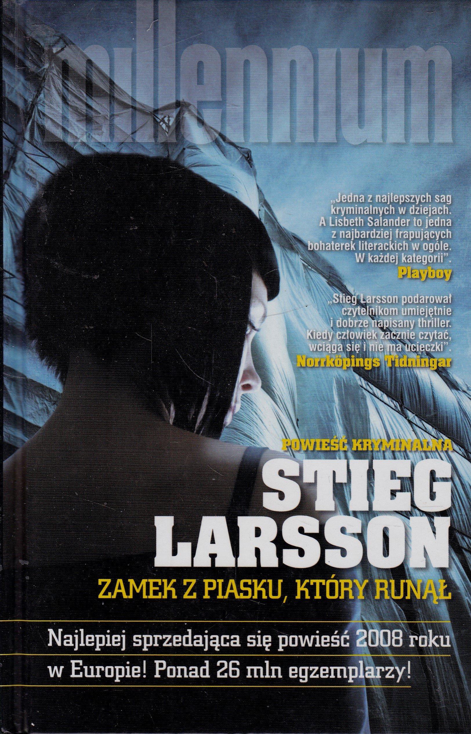 Zamek z piasku, który runął - Stieg Larsson
