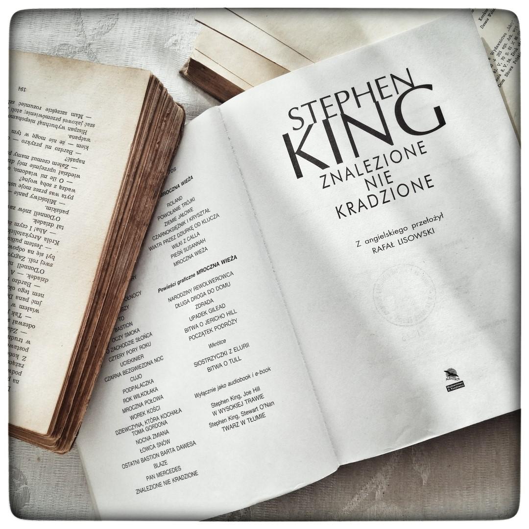 Znalezione nie kradzione - Stephen King - czytoholik
