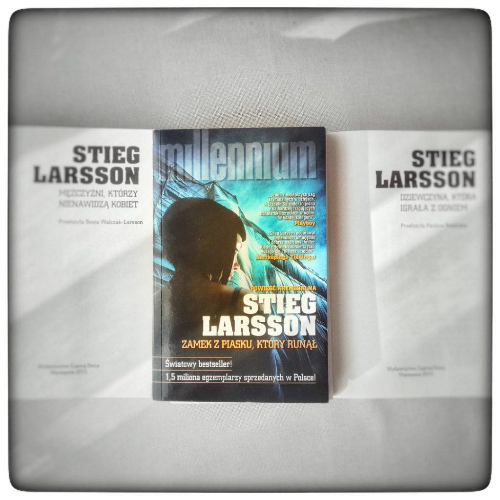 Zamek z piasku, który runął - Stieg Larsson - czytoholik