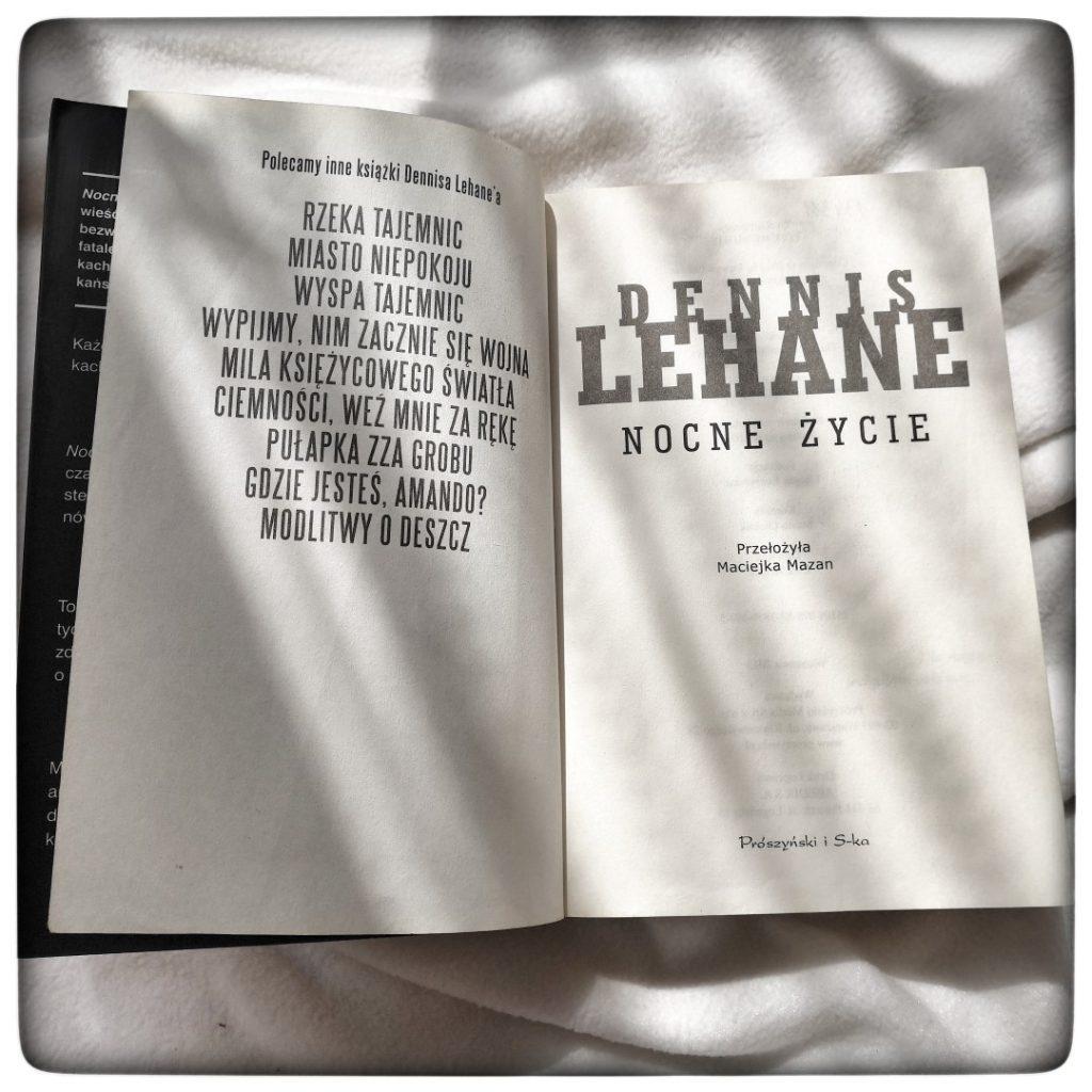Nocne życie - Dennis Lehane - czytoholik