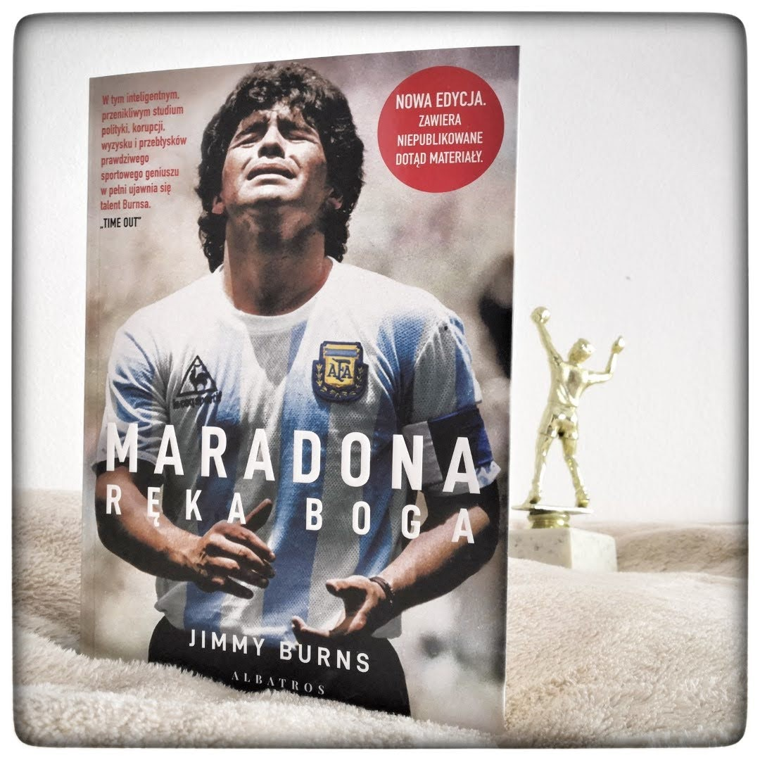 Maradona. Ręka Boga - Jimmy Burns