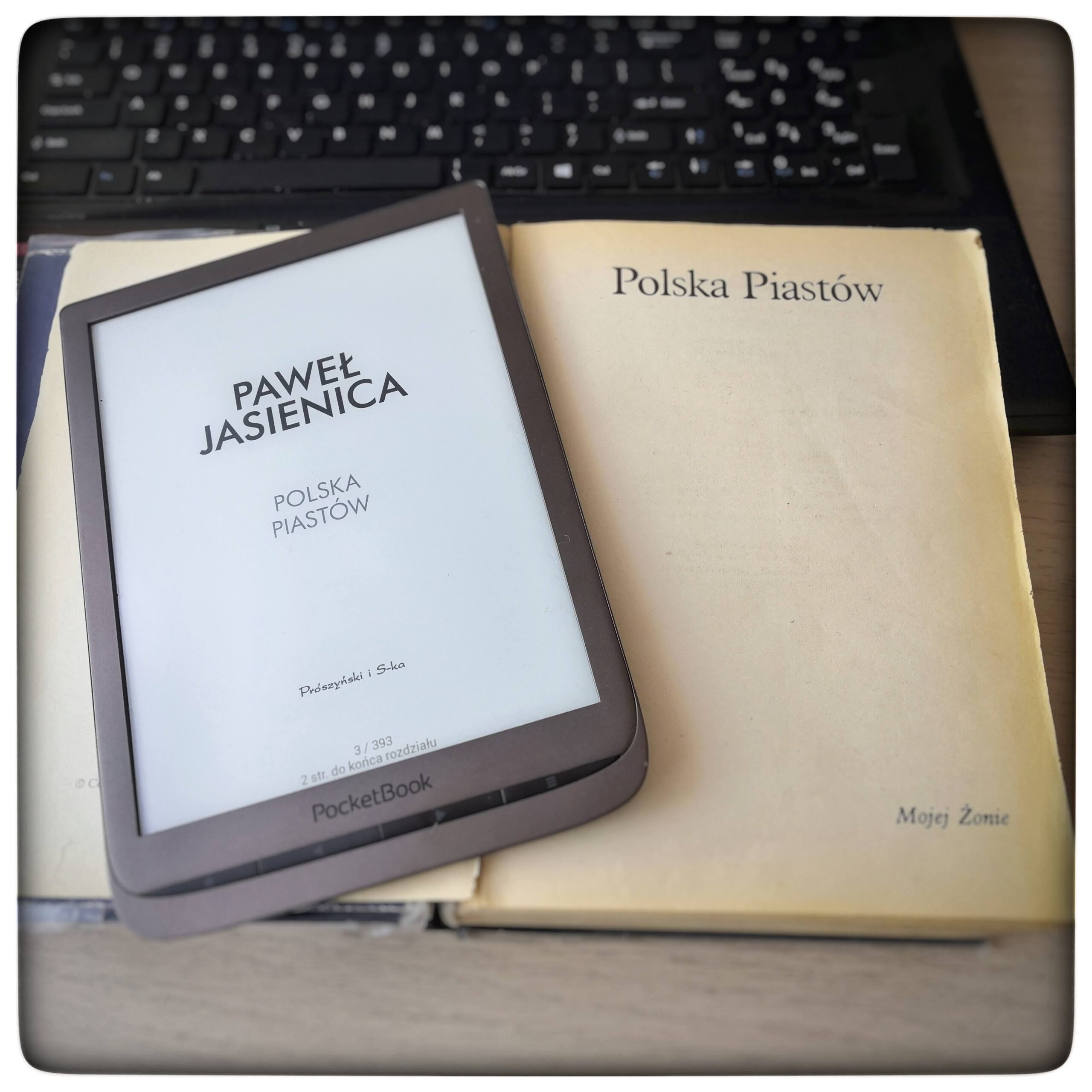 Polska Piastów - Paweł Jasienica - czytoholik